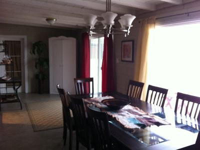 dining room facing south