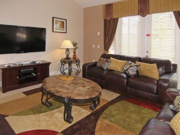 Family Room (55in TV, PS3, region-free DVD player)
