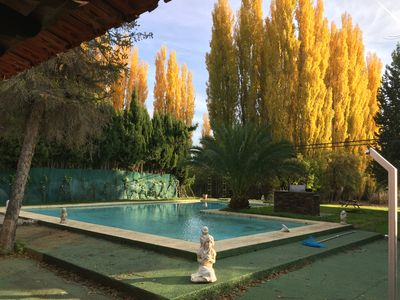 Country house with pool in Albalate de zorita