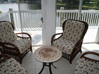 Bradenton condo photo - Enclosed Climate Controlled Lanai