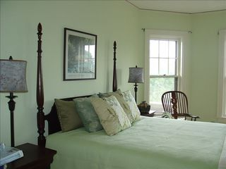 Sheboygan house photo - Second Floor Bedroom with Adjoining Bath