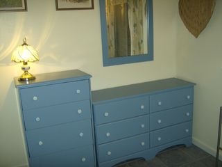 Harbor Island condo photo - Chest 2, dresser and mirror