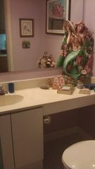 Powder room - Brigantine townhome vacation rental photo