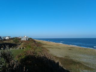 Tom Nevers house photo - The view from the bluff overlooking Tom Nevers Beach - just a short walk away