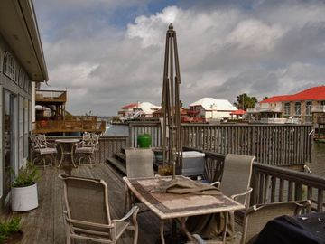 View toward laguna Madre from Mid-deck. - Jason Page Photo