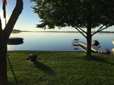 Newly Renovated Family Friendly Cabin with Great Beach on Pelican Lake (by DL)