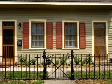 Bayou St John cottage rental - New Orleans Creole Cottage