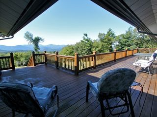 Boone estate photo - breathtaking mountain views from 1 of 3 great decks!