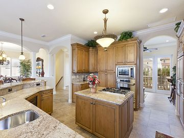 Gourmet cooks will feel right at home in our gourmet kitchen!