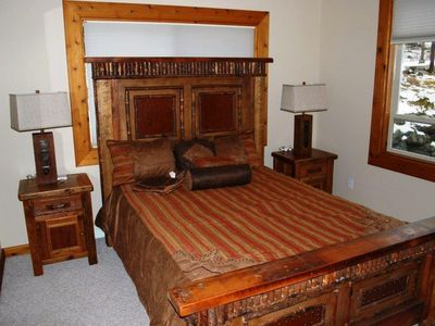 Whitefish house rental - Queen size bed