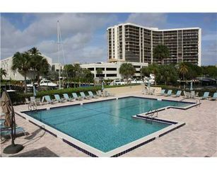 Highland Beach condo photo - Dalton Place Pool with View of Marina.