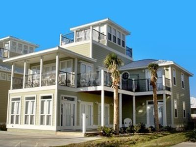 Crystal Beach house rental - View of front of house