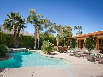 Palm Springs house rental - Pool