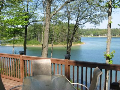 Gaylord cottage rental - Upper Deck