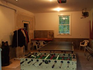 Ludlow chalet photo - Heated garage game room
