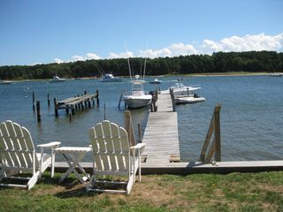 Falmouth house photo - Adirondack Chairs