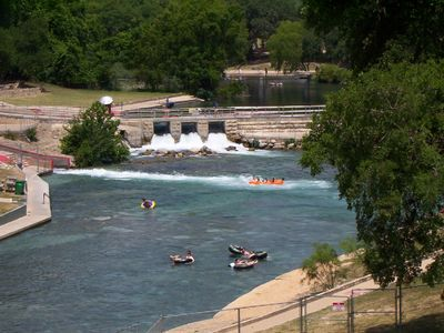 Tube Chute on the Comal (a few doors down!)