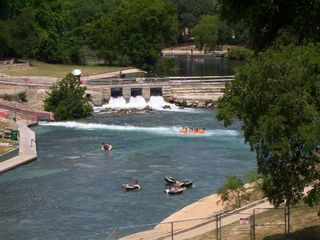 New Braunfels house photo - Tube Chute on the Comal (a few doors down!)