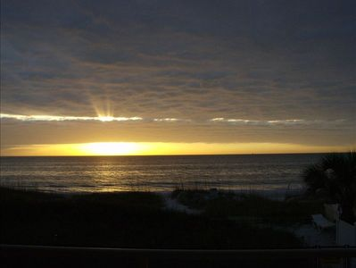 Bradenton Beach studio rental - Come enjoy the beautiful Sunsets on your private Balcony