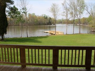 High Rock Lake house photo - View from back deck/balcony