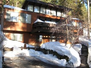 Incline Village house rental - Full frontal of #27 Incline Pines - Winter or Summer - It's all good!