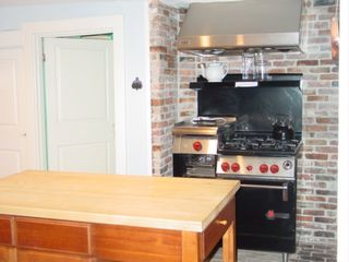 Falmouth house photo - kitchen w/ Wolf Gourmet Stove
