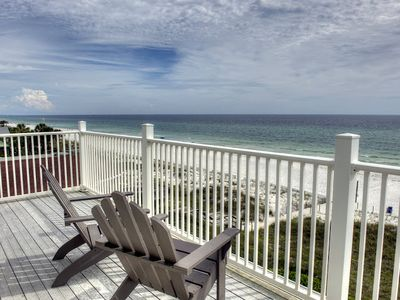 Hollywood Beach villa rental - Incredible ocean views from the balcony off one of the bedrooms.