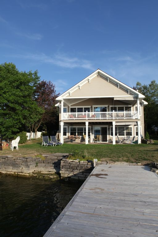 Luxury home on St. Lawrence river.