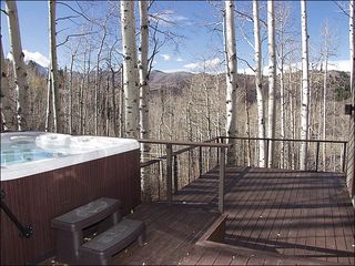Snowmass Village house photo - Private Deck with Views