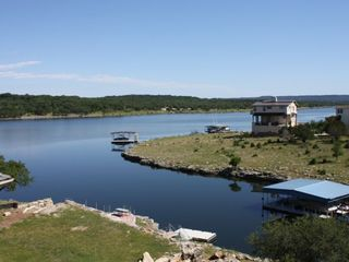 Lago Vista house photo - View of Lake Travis from Upstairs Veranda