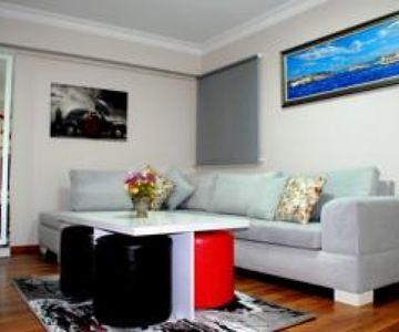 Luxury, Furnished and Centrally Located Apart Room for 3 in Harbiye