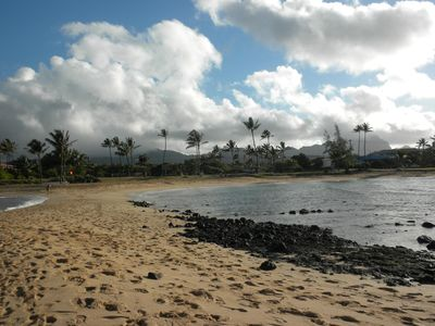 The Tombolo at Poipu Beach