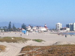 Hotel Del Coronado from Sunset Beach.