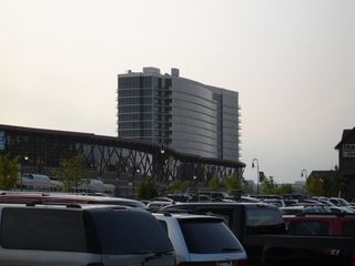 Branson hotel photo - The Hilton Hotel With Convention Center From The Branson Landing Parking!