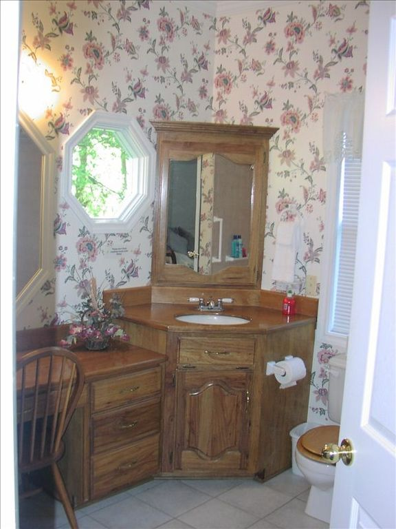 Bathroom attached to master suite.