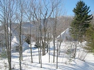 Warren townhome photo - Winter Views of Lincoln Peak at Sugarbush South