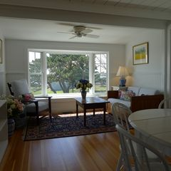 West Yarmouth house photo - The dining area is open to the living area.