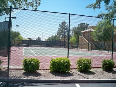 Tennis Courts available 24/7.