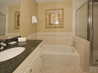 Forest Beach condo rental - Master Bath-Main