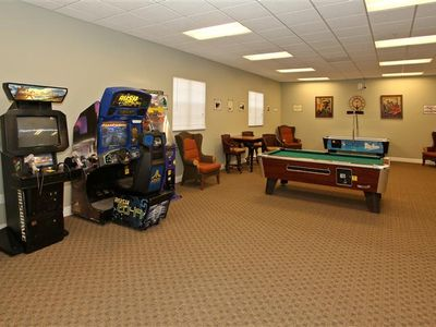 game room in the club house