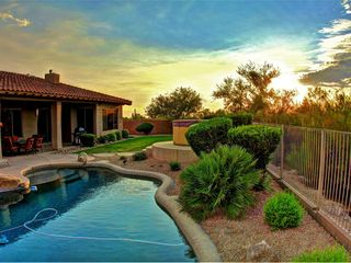 Scottsdale house photo - Backyard and Pool