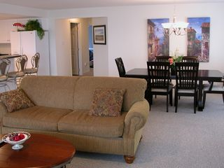 Wildwood condo photo - The spacious living, dining and kitchen area