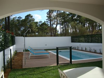 Lc. 11 368. Lovely 4 bed 3 bath house, with pool, 300 metres from the beach