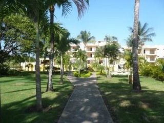 Sosua condo photo - The lush tropical side entrance, just minutes to the beach and downtown.