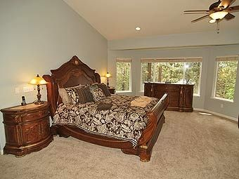 Large Master Suite, is perfect for relaxing in.