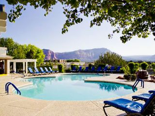 Sedona condo photo - Main Pool with Great Views of Sedona at the Ridge on Sedona Golf Resort