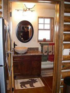 Brighton cabin rental - All new bathroom. The old one was an outhouse!