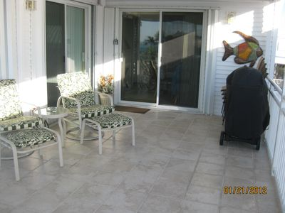 Cudjoe Key house rental - outside deck