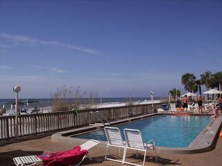 Indian Rocks Beach condo photo - Heated Pool On The Beach