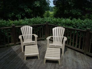 Deck - Mystic house vacation rental photo